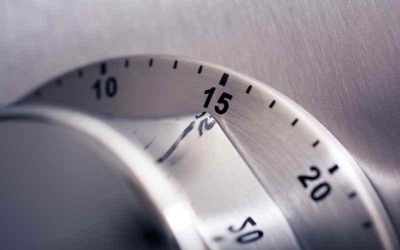 Een percent van je tijd