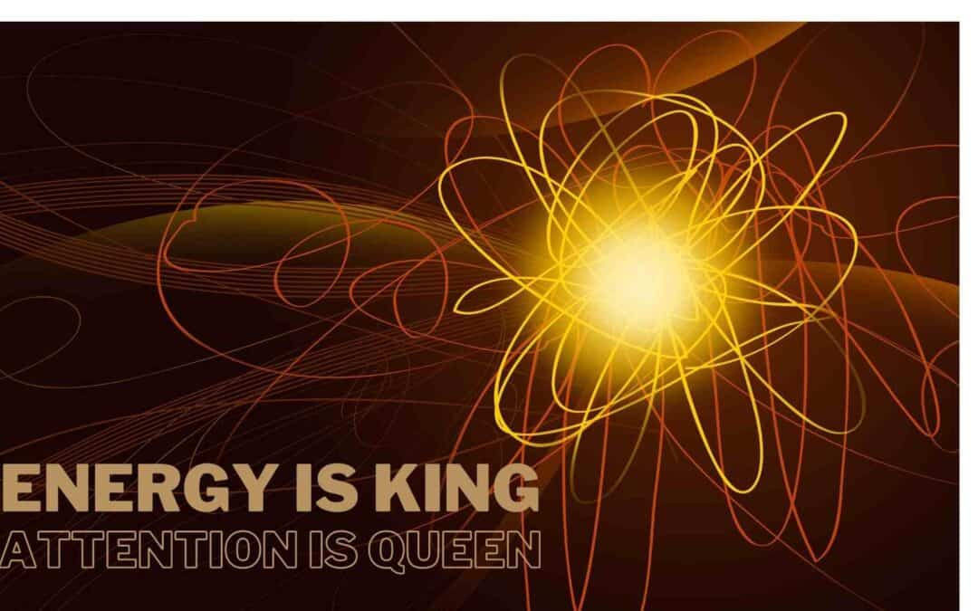 Energy is King, Attention is Queen